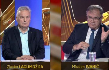 """MLADEN IVANIĆ I ZLATKO LAGUMDŽIJA OCIJENILI DODIKOVE IZJAVE: """"Ići će do kraja, cijenu će platiti…"""""""